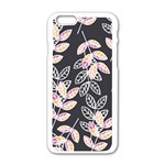 Winter Beautiful Foliage  Apple iPhone 6/6S White Enamel Case Front