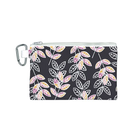 Winter Beautiful Foliage  Canvas Cosmetic Bag (S)