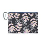 Winter Beautiful Foliage  Canvas Cosmetic Bag (M) Front