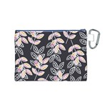 Winter Beautiful Foliage  Canvas Cosmetic Bag (M) Back