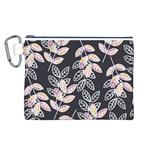Winter Beautiful Foliage  Canvas Cosmetic Bag (L) Front