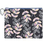 Winter Beautiful Foliage  Canvas Cosmetic Bag (XXXL) Front