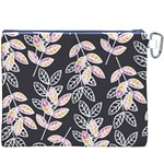 Winter Beautiful Foliage  Canvas Cosmetic Bag (XXXL) Back