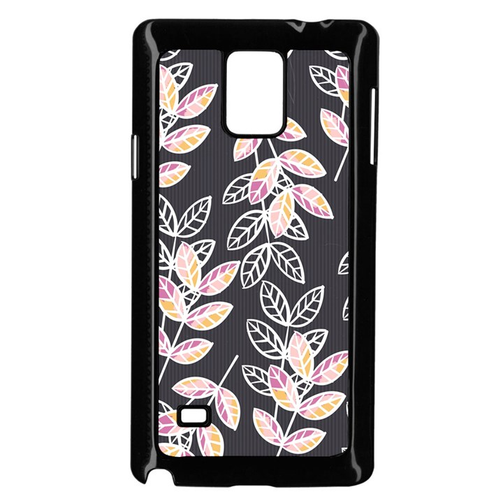 Winter Beautiful Foliage  Samsung Galaxy Note 4 Case (Black)