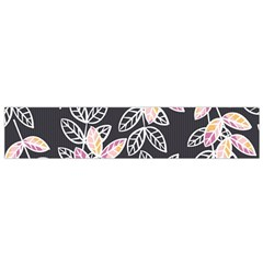 Winter Beautiful Foliage  Flano Scarf (Small)