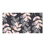 Winter Beautiful Foliage  Satin Wrap Front