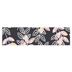 Winter Beautiful Foliage  Satin Scarf (Oblong) Front