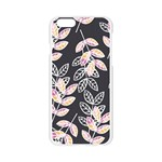 Winter Beautiful Foliage  Apple Seamless iPhone 6/6S Case (Transparent) Front