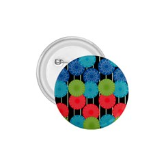 Vibrant Retro Pattern 1.75  Buttons