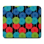 Vibrant Retro Pattern Large Mousepads Front