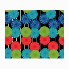 Vibrant Retro Pattern Small Glasses Cloth