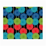Vibrant Retro Pattern Small Glasses Cloth Front