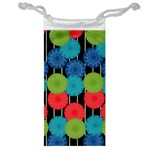 Vibrant Retro Pattern Jewelry Bags Front