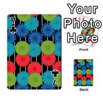 Vibrant Retro Pattern Playing Cards 54 Designs  Front - Club7