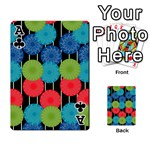 Vibrant Retro Pattern Playing Cards 54 Designs  Front - ClubA