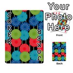 Vibrant Retro Pattern Playing Cards 54 Designs  Front - Joker1