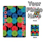 Vibrant Retro Pattern Playing Cards 54 Designs  Front - Joker2