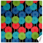 Vibrant Retro Pattern Canvas 12  x 12   12 x12 Canvas - 1