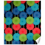 Vibrant Retro Pattern Canvas 20  x 24   24 x20 Canvas - 1