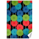 Vibrant Retro Pattern Canvas 24  x 36  36 x24 Canvas - 1