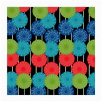 Vibrant Retro Pattern Medium Glasses Cloth Front