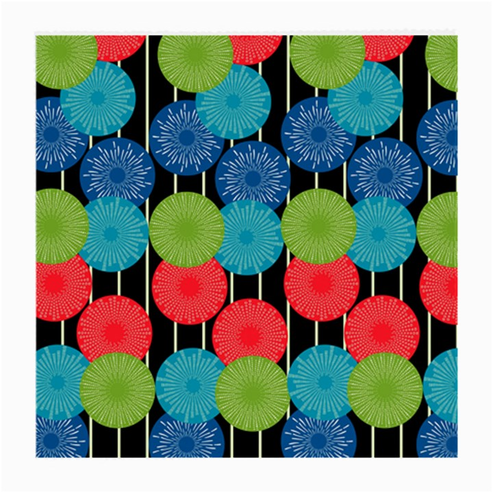 Vibrant Retro Pattern Medium Glasses Cloth (2-Side)