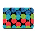 Vibrant Retro Pattern Small Doormat  24 x16 Door Mat - 1
