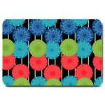 Vibrant Retro Pattern Large Doormat  30 x20 Door Mat - 1