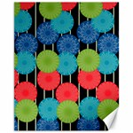 Vibrant Retro Pattern Canvas 11  x 14   14 x11 Canvas - 1