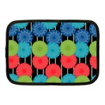 Vibrant Retro Pattern Netbook Case (Medium)  Front