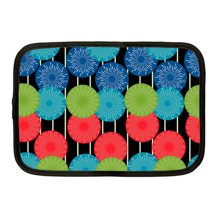 Vibrant Retro Pattern Netbook Case (Medium)