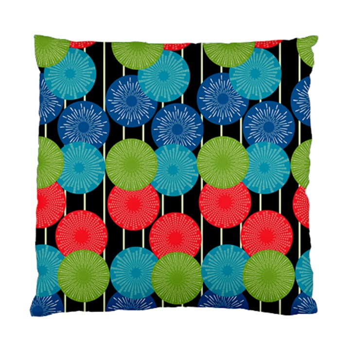 Vibrant Retro Pattern Standard Cushion Case (One Side)