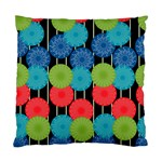 Vibrant Retro Pattern Standard Cushion Case (Two Sides) Back