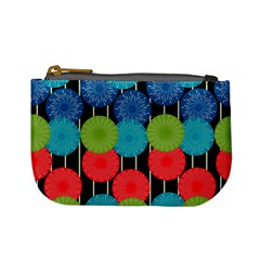 Vibrant Retro Pattern Mini Coin Purses