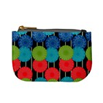 Vibrant Retro Pattern Mini Coin Purses Front