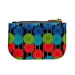 Vibrant Retro Pattern Mini Coin Purses Back