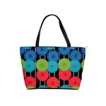 Vibrant Retro Pattern Shoulder Handbags Front