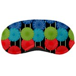 Vibrant Retro Pattern Sleeping Masks Front