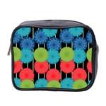 Vibrant Retro Pattern Mini Toiletries Bag 2-Side Front