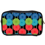 Vibrant Retro Pattern Toiletries Bags 2-Side Front