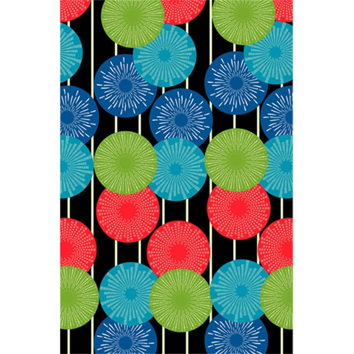 Vibrant Retro Pattern 5.5  x 8.5  Notebooks