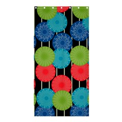 Vibrant Retro Pattern Shower Curtain 36  x 72  (Stall)