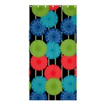 Vibrant Retro Pattern Shower Curtain 36  x 72  (Stall)  36 x72 Curtain