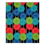 Vibrant Retro Pattern Shower Curtain 60  x 72  (Medium)  54.25 x65.71 Curtain