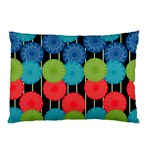 Vibrant Retro Pattern Pillow Case (Two Sides) Back