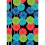 Vibrant Retro Pattern YOU ARE INVITED 3D Greeting Card (7x5) Inside