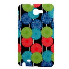 Vibrant Retro Pattern Samsung Galaxy Note 1 Hardshell Case