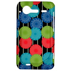 Vibrant Retro Pattern HTC Incredible S Hardshell Case