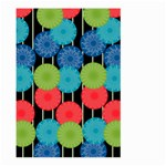 Vibrant Retro Pattern Large Garden Flag (Two Sides) Front