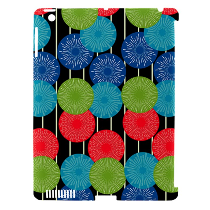 Vibrant Retro Pattern Apple iPad 3/4 Hardshell Case (Compatible with Smart Cover)